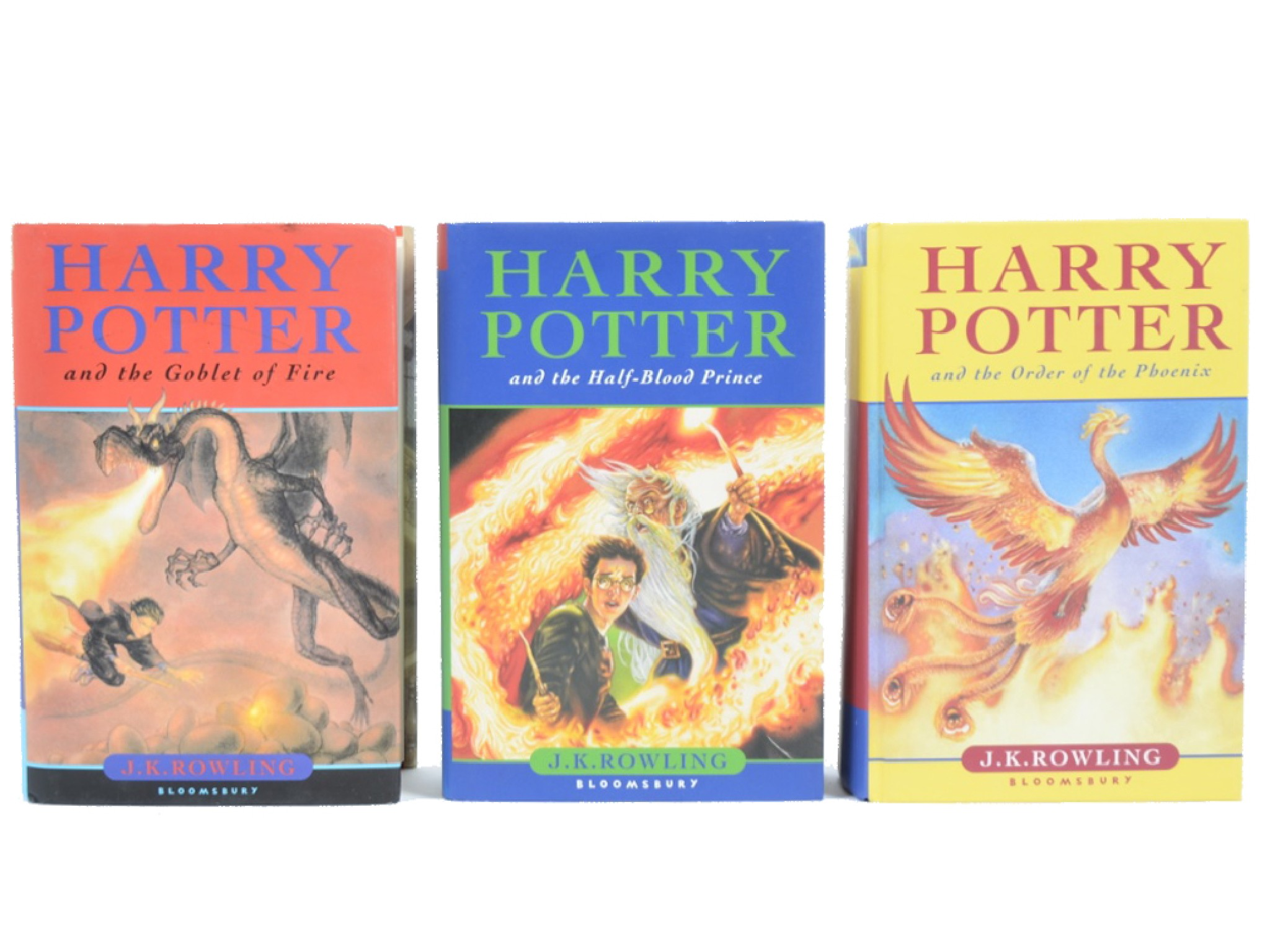 Three Harry Potter First Edition Lotsearchde